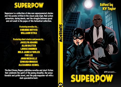 SUPERPOW! Coming your way at the end of October